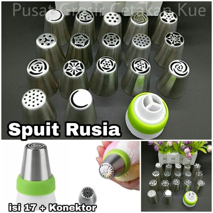 Spuit Rusia isi 17 Tebal Import