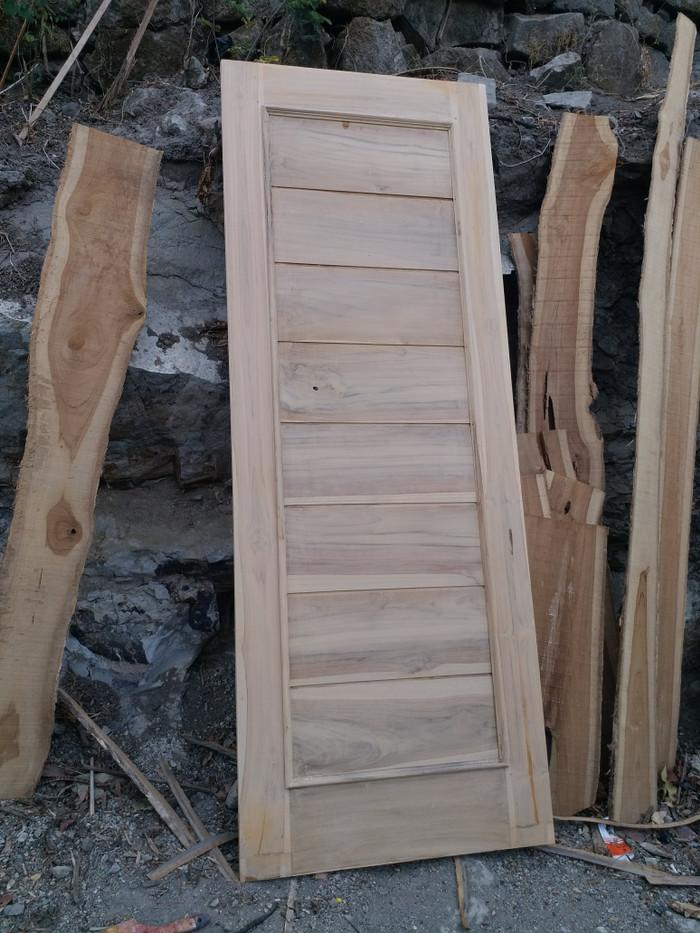 jual 2 pket daun pintu dan kusen kusen kayu jati minimalis kab bantul fanimebel tokopedia jual 2 pket daun pintu dan kusen kusen kayu jati minimalis kab bantul fanimebel tokopedia