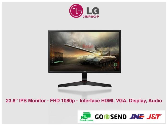 harga Lg 24mp59g-p ips gaming monitor led Tokopedia.com