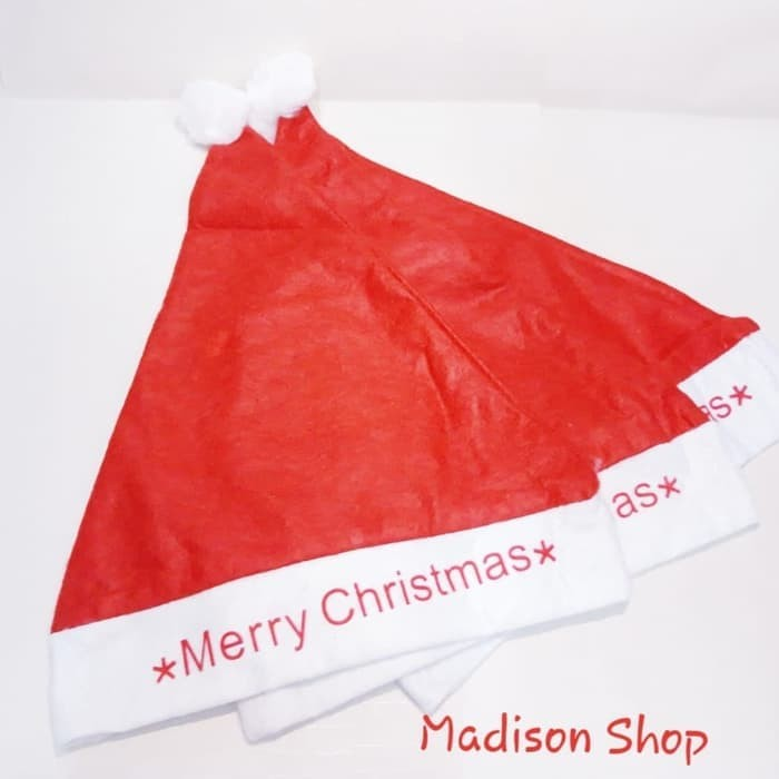 Hiasan natal/ pohon natal/ baju natal topi natal anak merry christmas