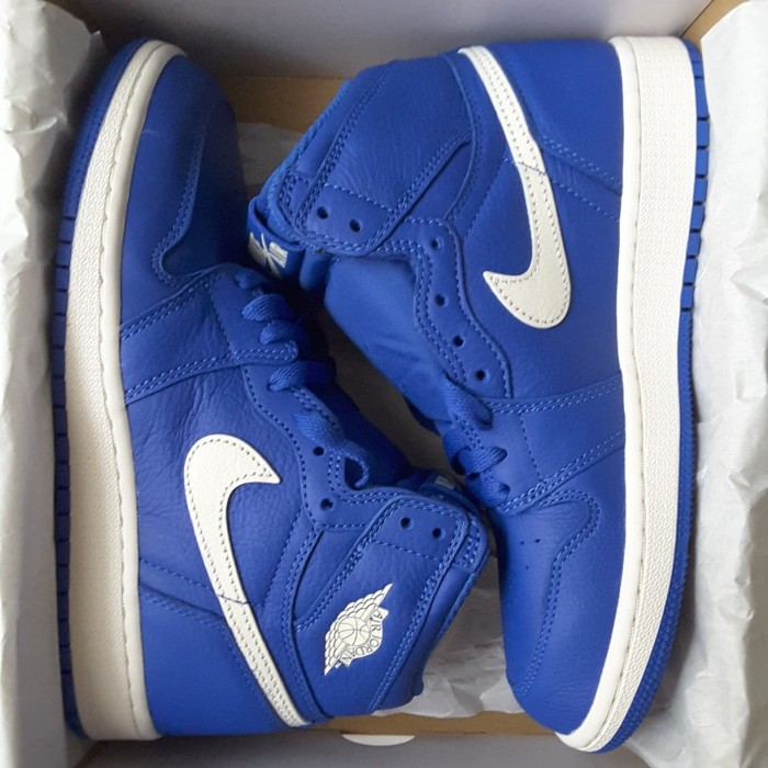 4190915bb9d7 Jual Air Jordan 1 Retro High Hyper Royal (GS) (575441-401) - tomjun7 ...