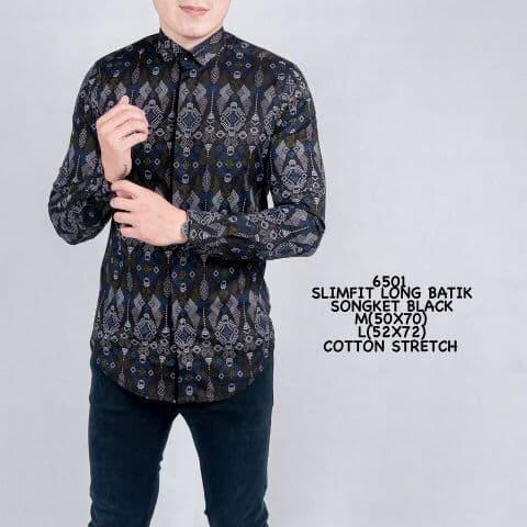 Promo Kemeja Batik Pria Lengan Panjang