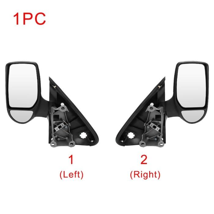 Left / Kanan Kaca Spion Samping Mobil Manual untuk Ford Transi