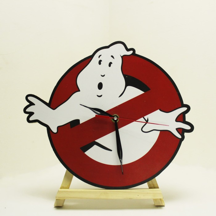 Jam Dinding Ghost Buster