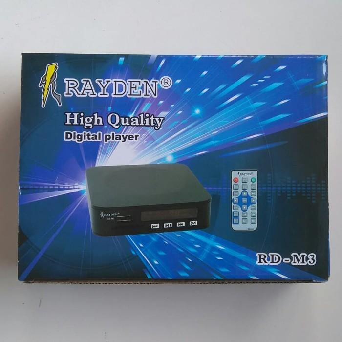harga Digital player audio video mp3 mp4 mp5 usb sd card rayden rd-m3 Tokopedia.com