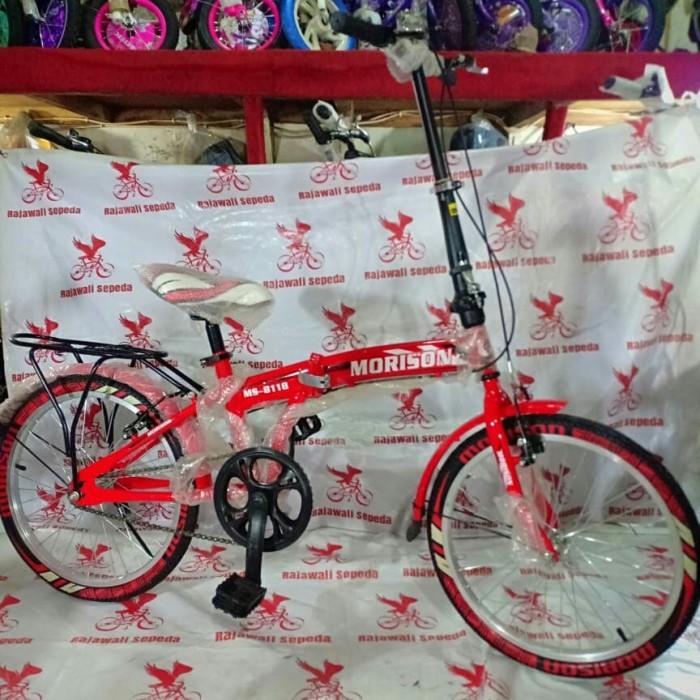 Jual sepeda anak 20 lipat morison ms8118 1sp ban warna
