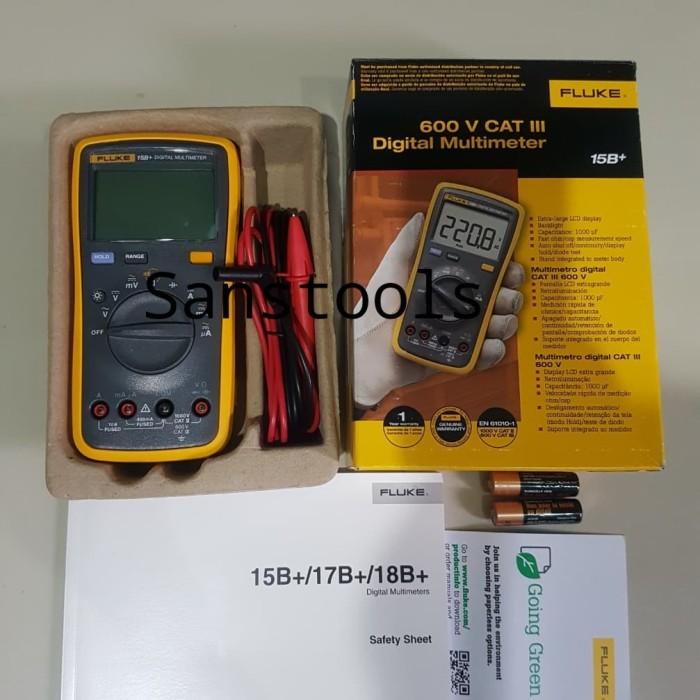harga Digital multimeter / multitester digital / fluke 15b+ Tokopedia.com