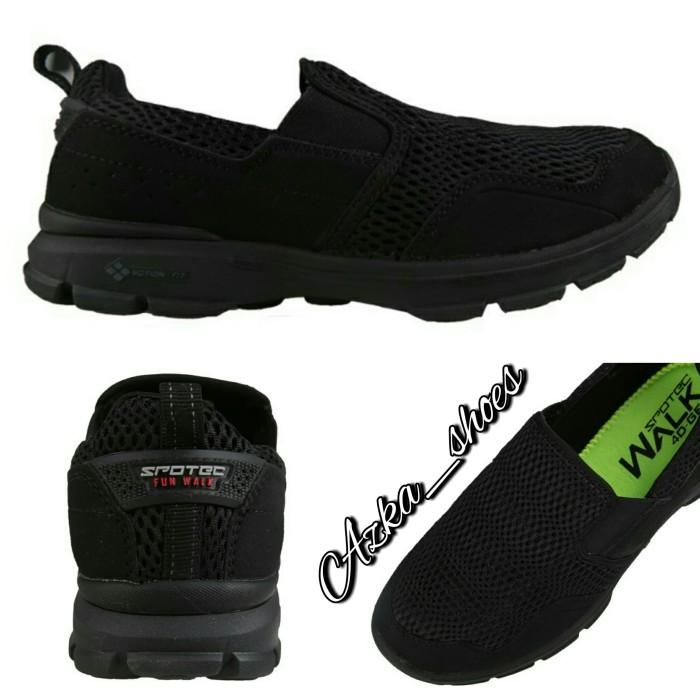 slip on full black