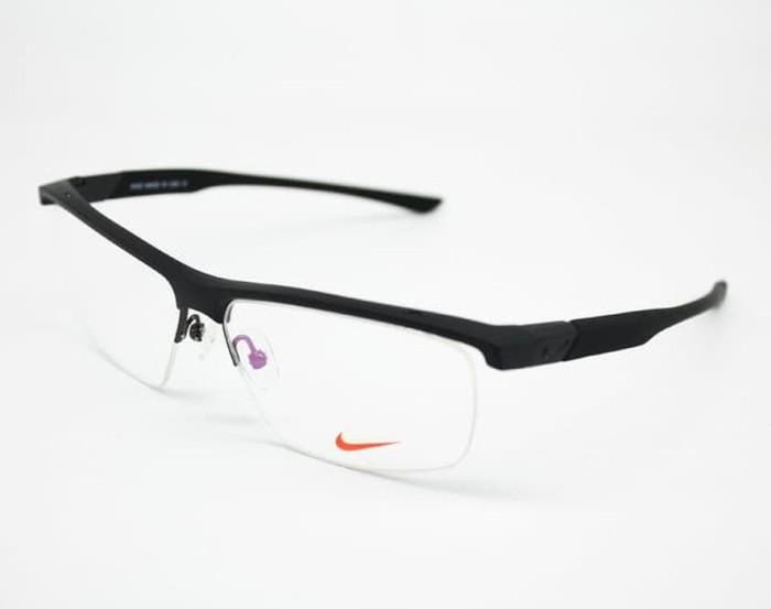 Jual Termurah Frame Kacamata Minus Nike BD 7077 Pria Hitam Merah ... d8649850ec