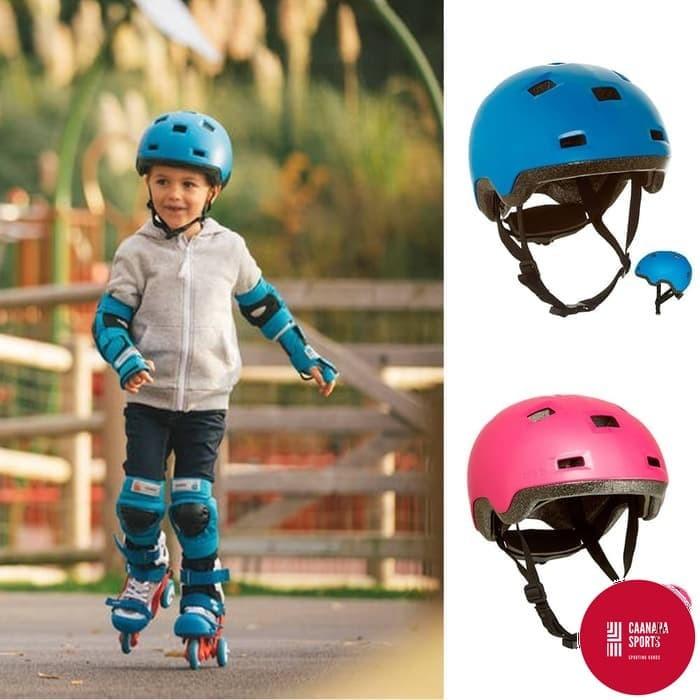 Harga Terbaru OXELO Helm Sepeda   Skateboard   Sepatu Roda Anak ORI ... b31db52a56