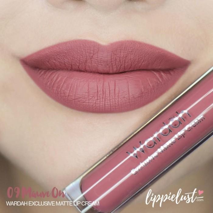 Foto Produk TERMURAH!! Wardah Exclusive Lip Cream Matte Lipcream wardah dari Stanley ex Store