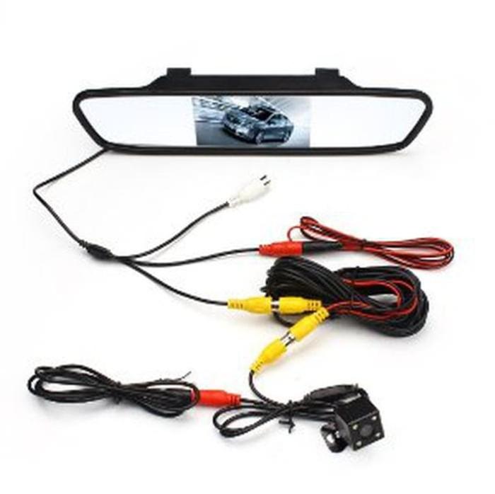 Monitor Mirror TFT Parking Camera - PAKET Kc Spion Mobil & Kam Murah