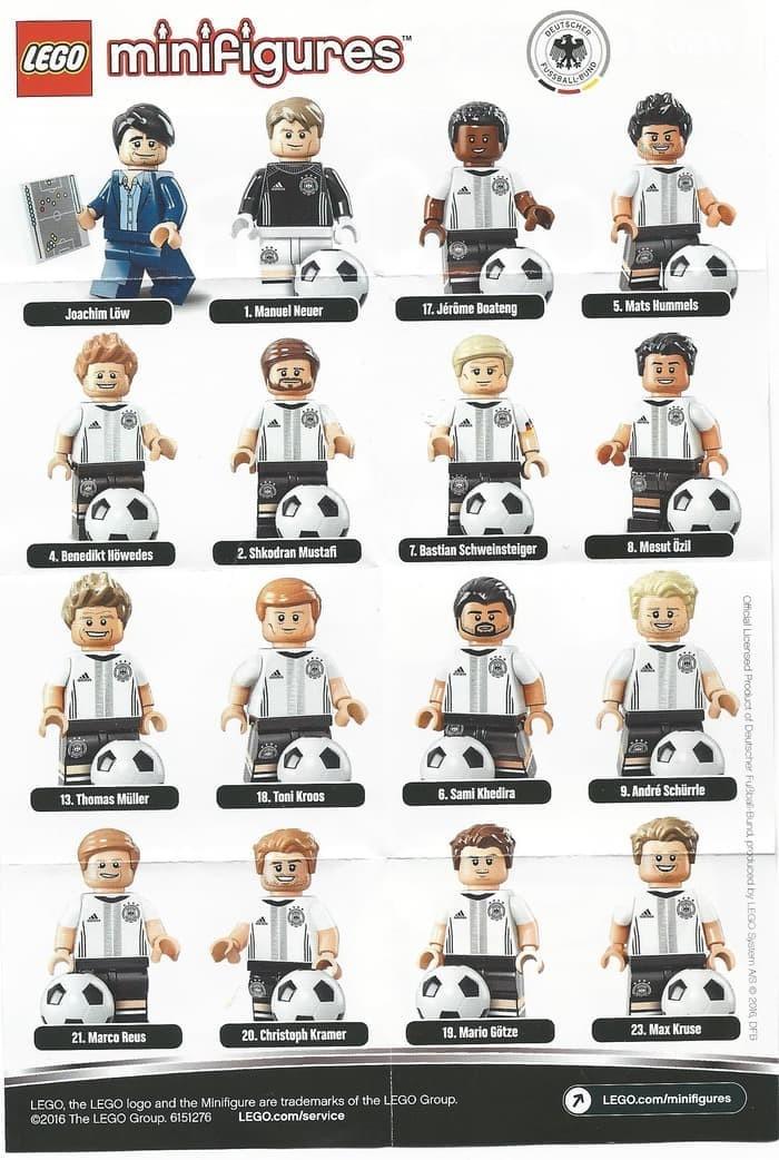 CHRISTOPH KRAMER # 20 German Soccer Lego DFB Minifigure # 71014
