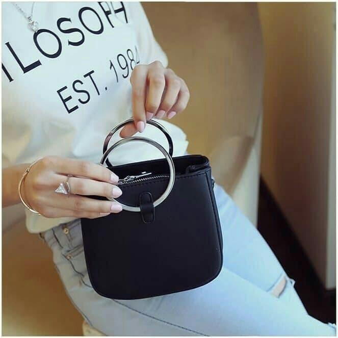 Foto Produk *LUNA* TAS MINI FASHION PESTA ALA KOREA SLING BAG TAS GELANG HP CLUTCH dari Marie Shop