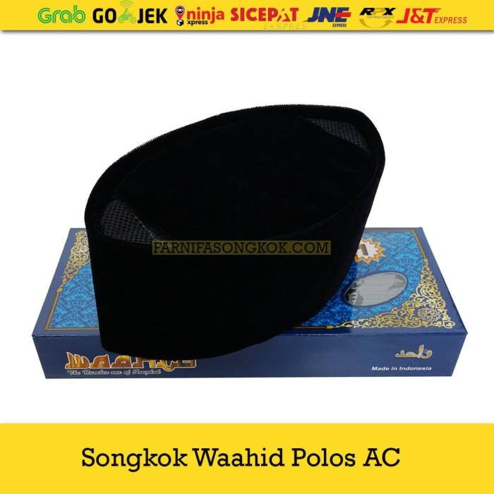 Foto Produk Peci Kopiah Songkok Wahid AC Polos dari Farnifa