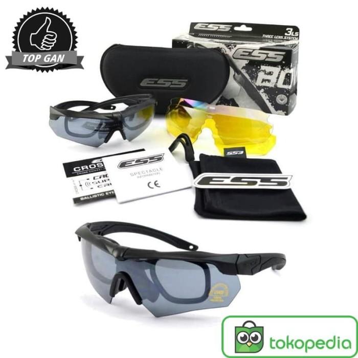 harga Kacamata ess crossbow 3 lensa tactical Tokopedia.com