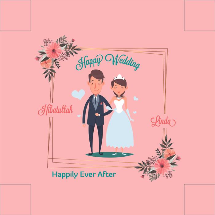 63 Gambar Ucapan Happy Wedding