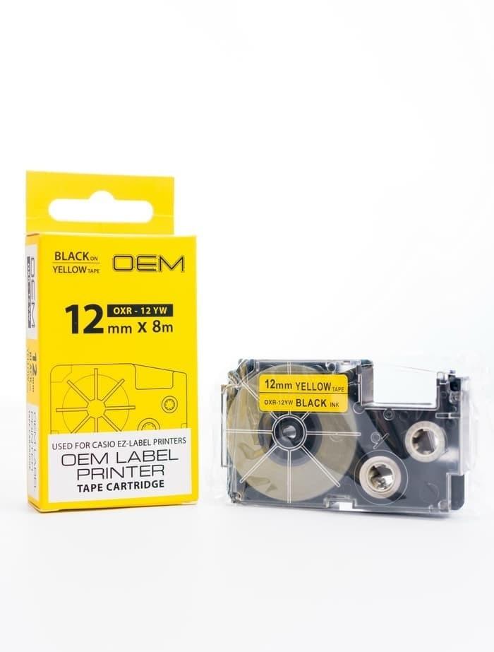 harga Jual catridge pita ez label ezlabel printer casio 12mm 12 mm Tokopedia.com