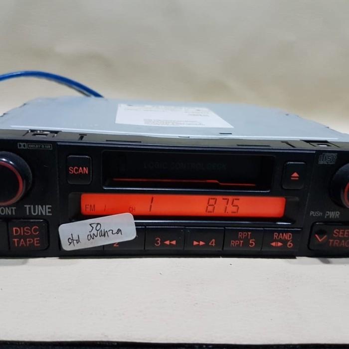 Jual Head Unit Tape Mobil Single Din Fujitsu Ten Bawaan