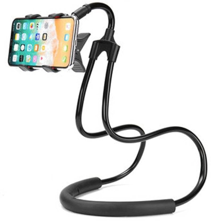 Lazy Neck Cell Phone Stan Mount Necklace / Holder HP Leher Fleksible