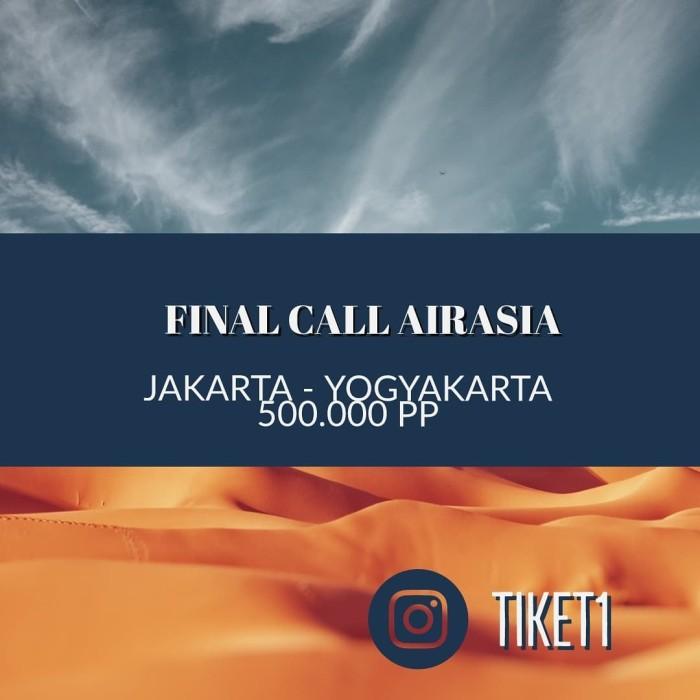 Jual Jakarta Jogja 4 Pax Dki Jakarta Rajanya Tiket Pesawat Tokopedia