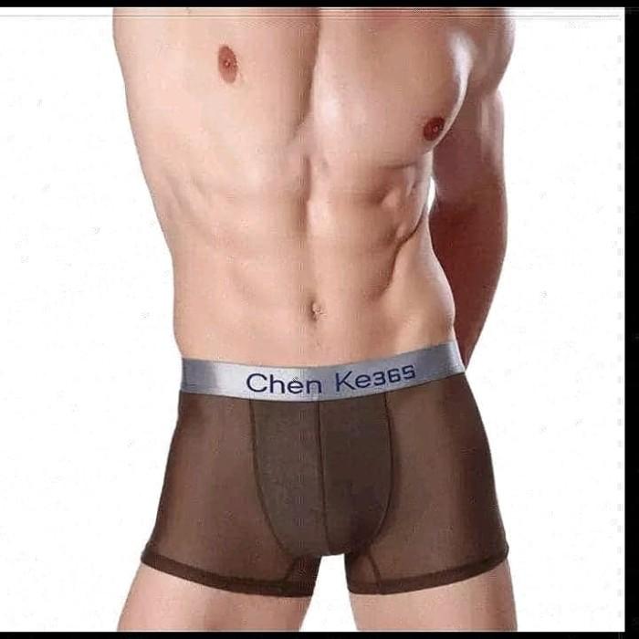 Jual celana dalam pria cowok seksi boxer transparan - doel ... a86957c5b7