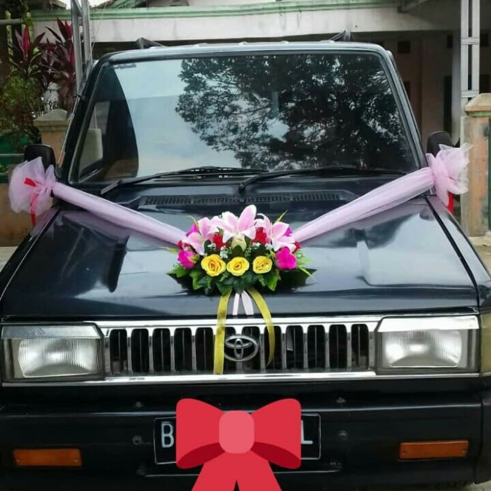 Jual Bunga Artificial Hiasan Mobil Pengantin Kota Tangerang Rania Berkah Utama Tokopedia