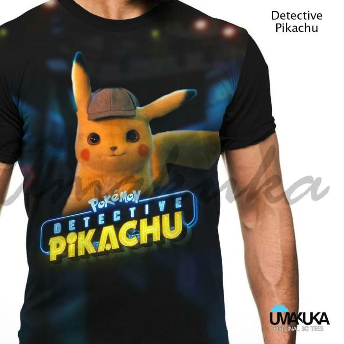 472d287a Jual T-shirt / Kaos Full Umakuka - DETECTIVE PIKACHU - Kota Bandung ...