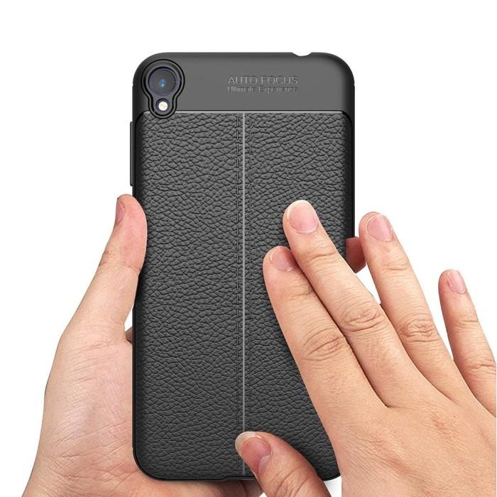 online store 34114 3149f Jual TPU Case Autofocus Leather Asus Zenfone Live L1 ( ZA550KL ) Layar 5.5