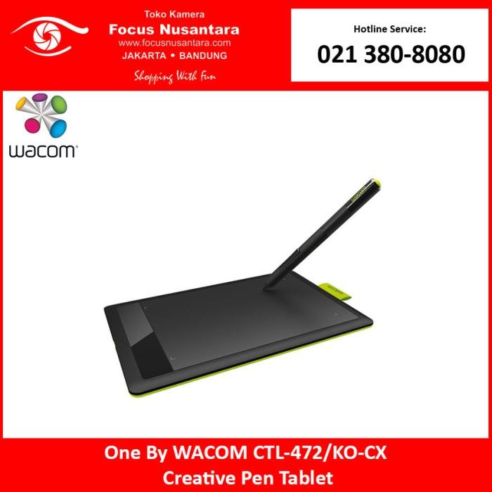 Jual One By WACOM CTL-472/KO-CX Creative Pen Tablet - DKI Jakarta - Focus  Nusantara - OS | Tokopedia