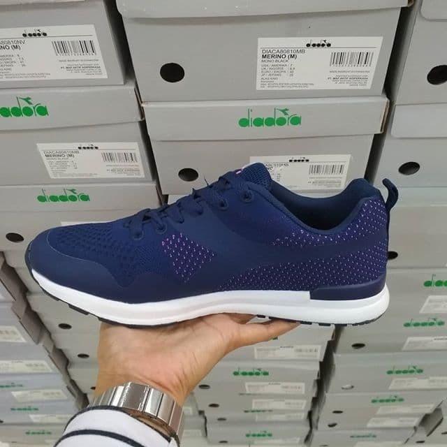 harga Sepatu wanita diadora running marcello navy asli ori bnib100% termurah  Tokopedia.com 02232a6c30