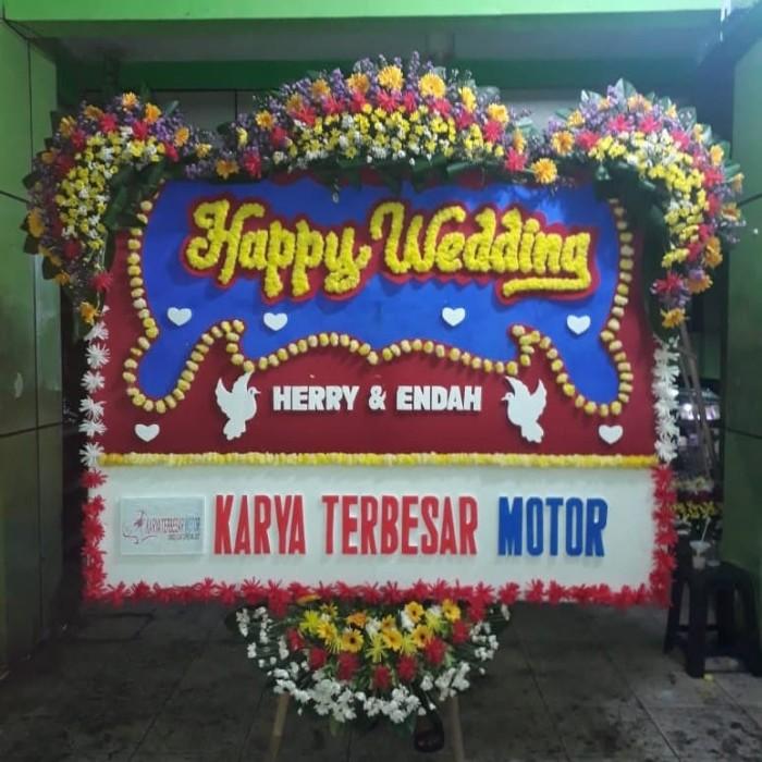 Jual Bunga Papan Karangan Bunga Wedding Pembukaan Grand Opening Dukacita Jakarta Barat Miracle Florist Tokopedia