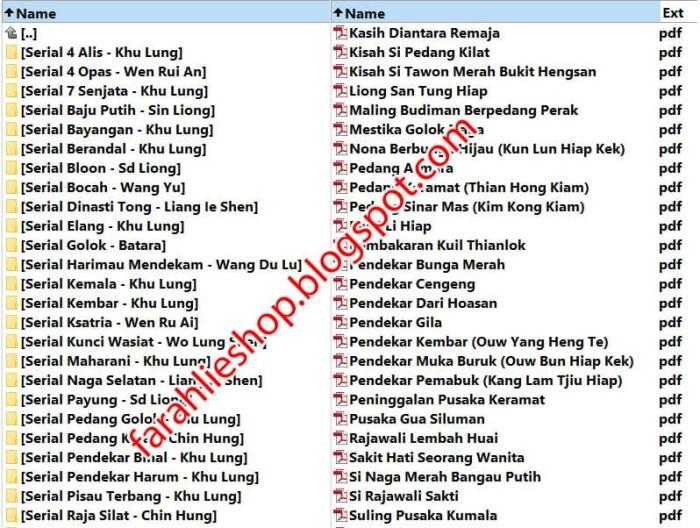 Cerita Silat Pdf File