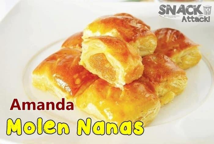 Bolen Amanda ( rasa baru ) - Molen Peanut Butter / Nanas
