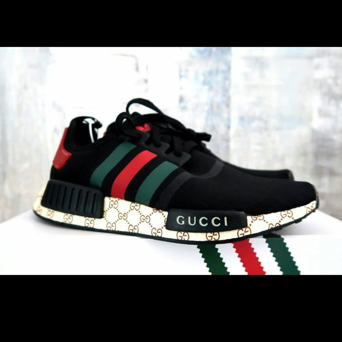 Jual Adidas Nmd Gucci Premium OriginalSepatu Adidas DKI Jakarta SneakVolution | Tokopedia