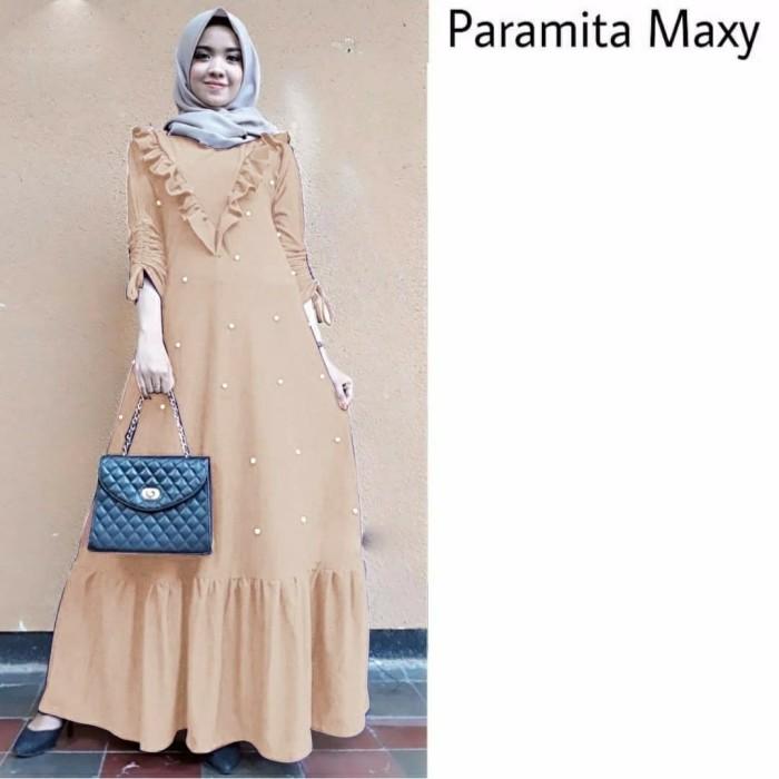 Jual Baju busana muslim wanita baju mutiara cantik maxi paramita ... 6dbd1f537e