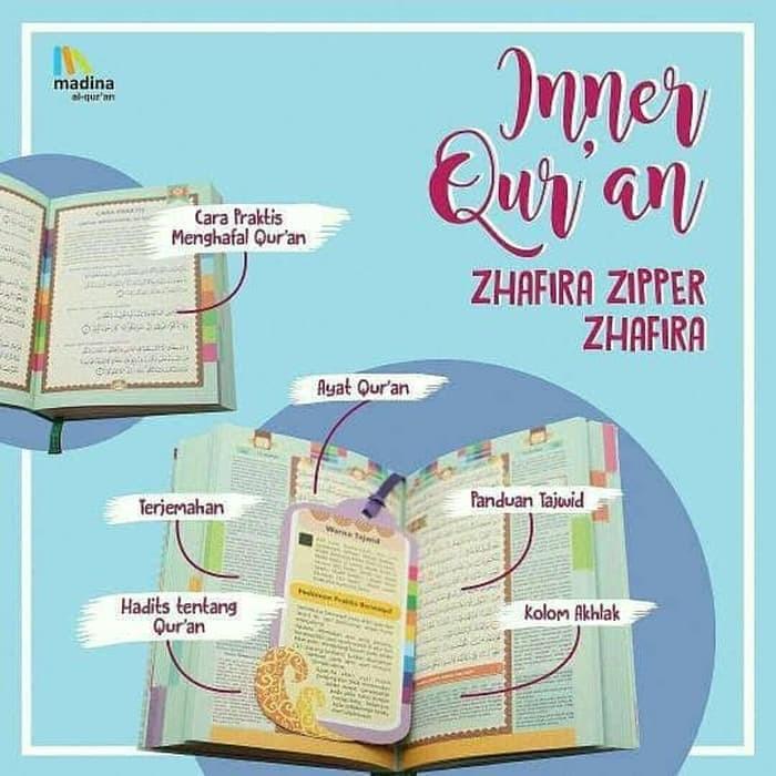 Al Quran Rainbow Wanita Madina Zhafira - Alquran Best Quality A6