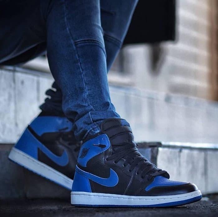 b96ac52ad073c Jual Nike Air Jordan 1 Retro High Royal Blue Premium Original / sneakers -  Kab. Bekasi - KEDAI SYN | Tokopedia