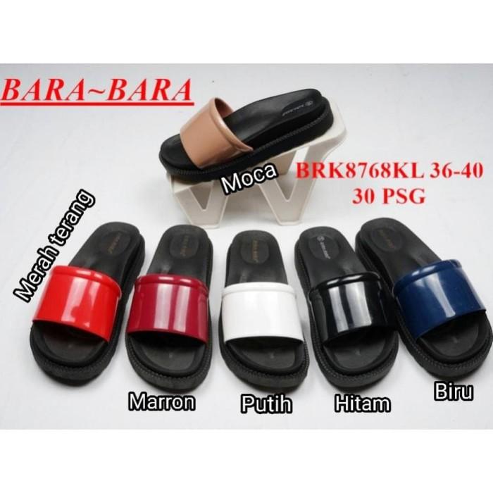 55e57972569d Jual FASHION Jelly sandal wanita bara bara sendal cewek karet import ...