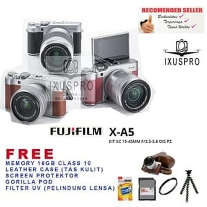 Jual Harga Promo Fujifilm X A5 Kit 15 45mm Pz Kamera Fuji Film Xa5 Dki Jakarta Aneka Foto Stc Tokopedia