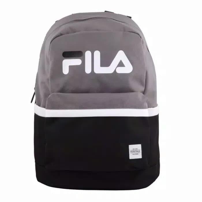 1e6bb4e1543 Jual Tas ransel Fila Metrico Backpack Grey Original - Kota Medan ...