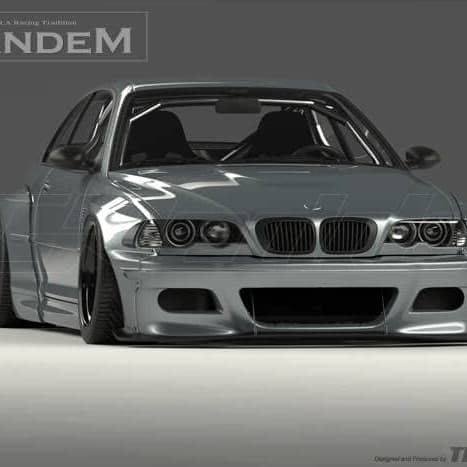Jual Wide Body Bmw E46 Rocket Bunny Pandem Import Kota Tanjung