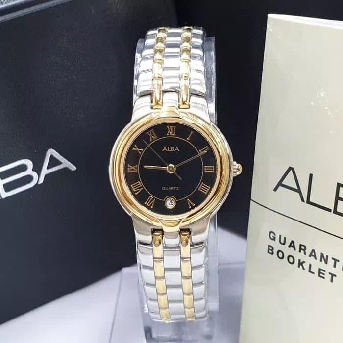 harga Jam tangan wanita alba axt14x silver gold original Tokopedia.com