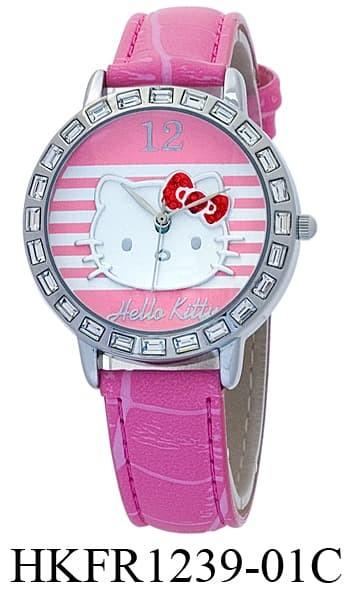 harga Jam tangan analog hello kitty hkfr1239-01b Tokopedia.com