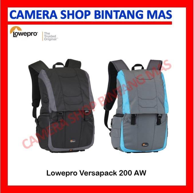harga Lowepro versapack 200 aw (blue black) Tokopedia.com