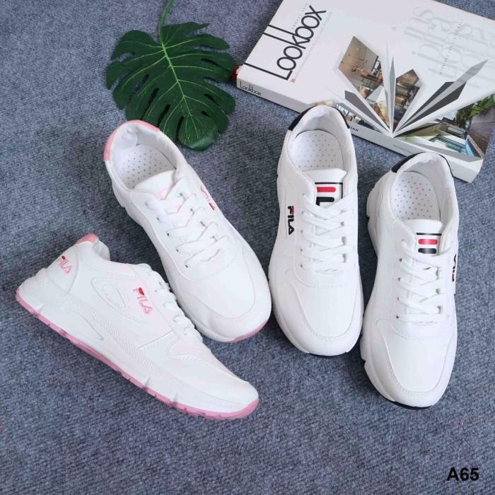 2674fc823f3a Jual FILA Sneakers Shoes A65 - Flo Olshop93