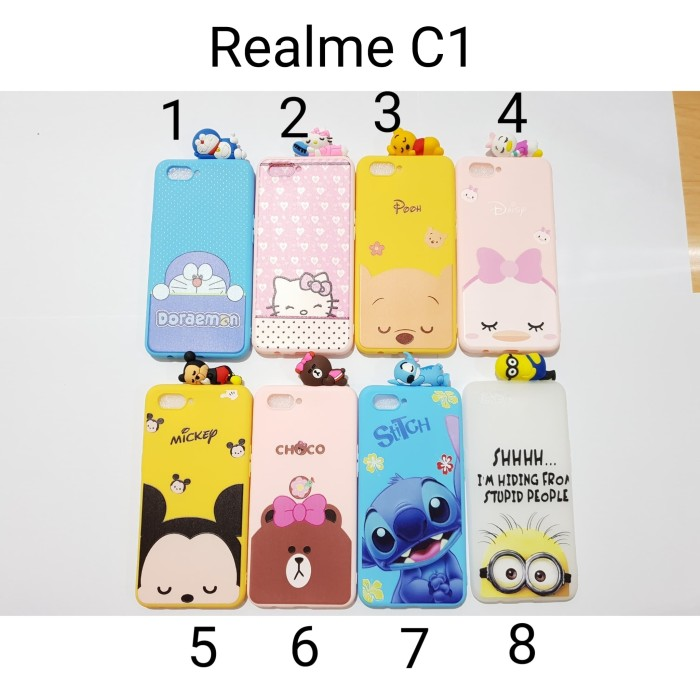 harga Softsheel case disney baby peek sleep realme c1 / case 3d realme c1 Tokopedia.com