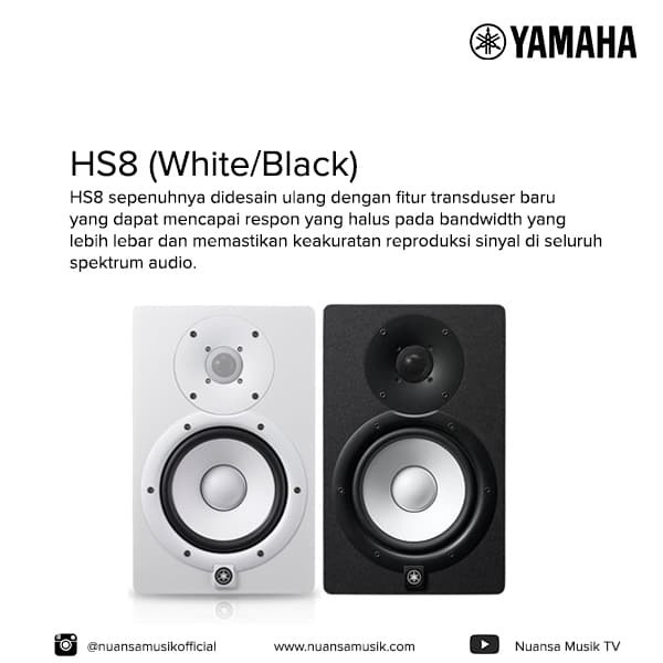 harga Yamaha hs8 ( powered studio monitor ) Tokopedia.com