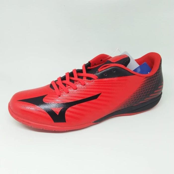 Jual sepatu futsal MIZUNO BASARA SALA SELECT IN flame scarlet black ... 7fab5f0472