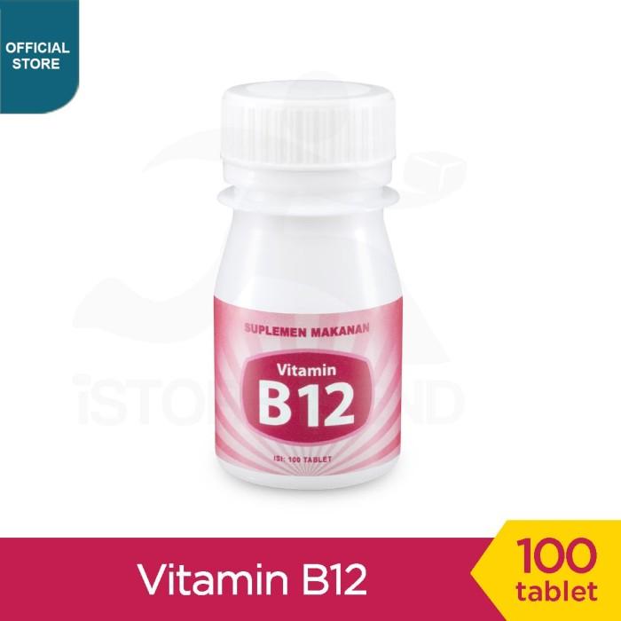 Foto Produk Vitamin B12 10mcg @100 tablet dari Helmigs Curcumin